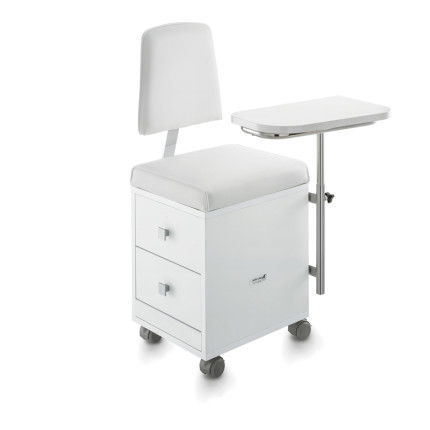 manicure trolley with seat