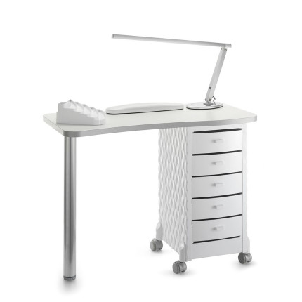 compact manicure table