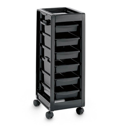 hairdreser trolley six drawers