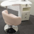 pink chair for beauty salon