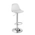 nail bar stool with footrest
